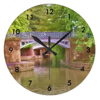 The Sydney Garden Bridges Large Clock
