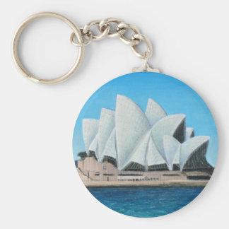 The Sydney Opera House 2 Key Ring