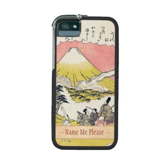 The Syllable He  Passing Mount Fuji japanese art iPhone 5/5S Covers