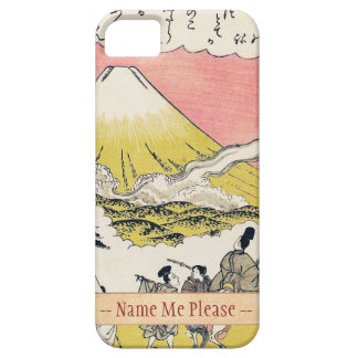 The Syllable He  Passing Mount Fuji japanese art iPhone 5 Cover