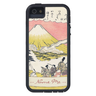 The Syllable He  Passing Mount Fuji japanese art Tough Xtreme iPhone 5 Case