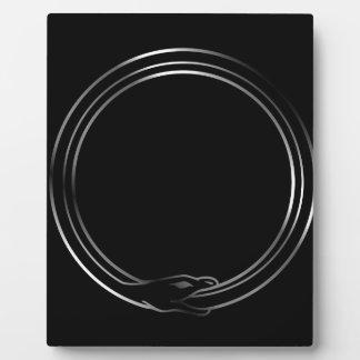 The symbol of Ouroboros snake Plaque