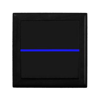 The Symbolic Thin Blue Line Decor Gift Box