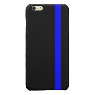 The Symbolic Thin Blue Line on Black iPhone 6 Plus Case