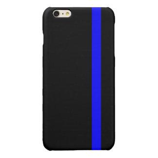 The Symbolic Thin Blue Line on Black iPhone 6 Plus Case