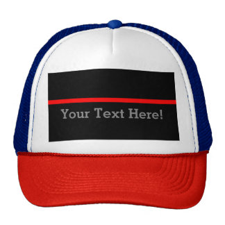 The Symbolic Thin Red Line Personalize This Cap