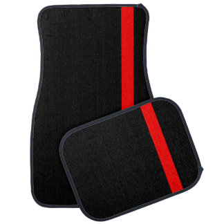 The Symbolic Thin Red Line Vertical Style Car Mat