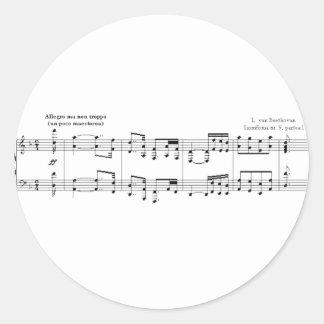 The Symphony No. 9 Sticker