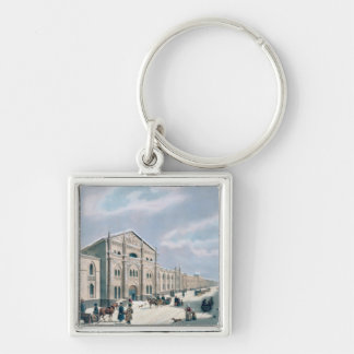 The Synodal Printing house Silver-Colored Square Key Ring
