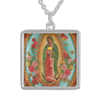 The Taco Saint Necklace-Silver Sterling Silver Necklace