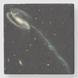 The Tadpole Galaxy Stone Coaster