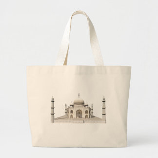 The Taj Mahal: 3D Model: Large Tote Bag