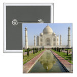 The Taj Mahal, Agra, Uttar Pradesh, India, Pinback Button