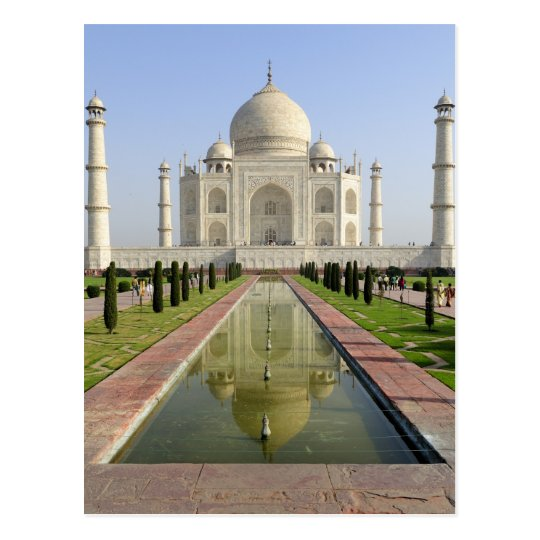 The Taj Mahal, Agra, Uttar Pradesh, India, Postcard