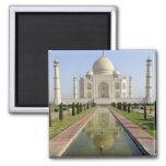 The Taj Mahal, Agra, Uttar Pradesh, India, Square Magnet