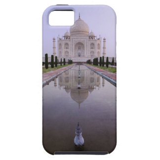the Taj Mahal perfectly reflected in the pool in iPhone 5 Cases