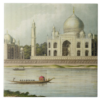 The Taj Mahal, Tomb of the Emperor Shah Jehan and Tile