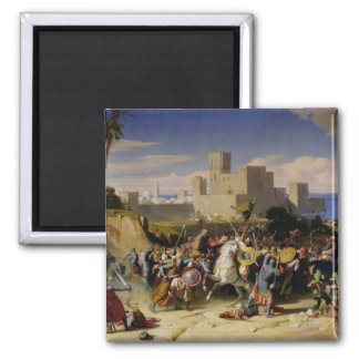 The Taking of Beirut by the Crusaders Magnet