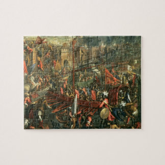 The Taking of Constantinople (oil on canvas) Jigsaw Puzzle