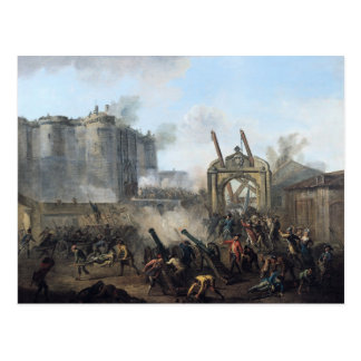 The Taking of the Bastille, 14th July 1789 Postcard