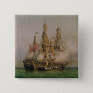 The Taking of the 'Kent' 15 Cm Square Badge