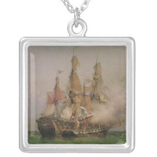 The Taking of the 'Kent' Square Pendant Necklace