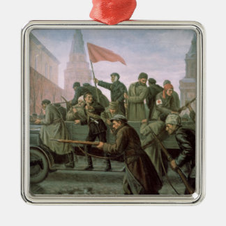 The Taking of the Moscow Kremlin in 1917, 1938 Christmas Ornament