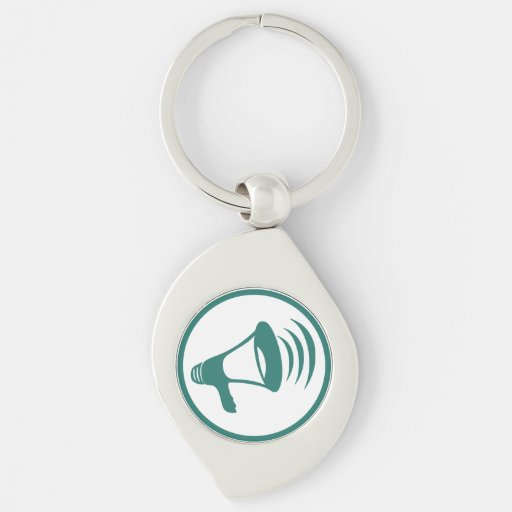 "The ""talking science"" badge keychain"