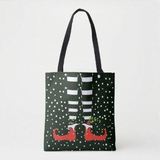 The Tall Elf Christmas Tote Bag