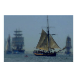 The Tall Ships Poster