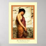 The Tambourine Girl Print