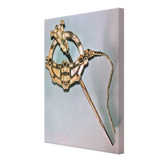 The Tara Brooch, from Bettystown, County Meath (ca Canvas Print