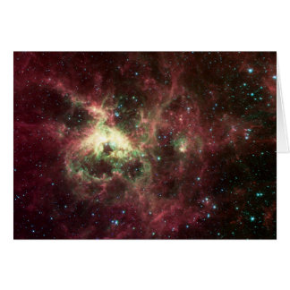 The Tarantula Nebula Greeting Card