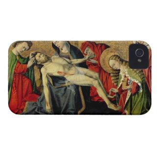 The Tarascon Pieta, Provencal School (oil on panel iPhone 4 Case-Mate Case
