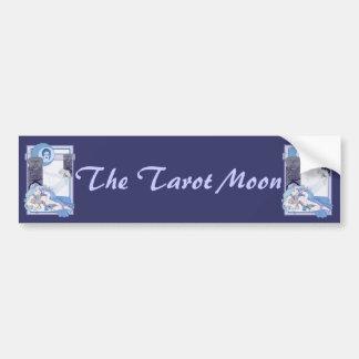 The Tarot Moon Bumper Sticker