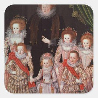 The Tasburgh Group: Lettice Cressy Square Sticker