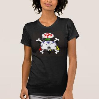 the tattood skully ladies t T-Shirt