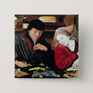 The Tax Collector 15 Cm Square Badge