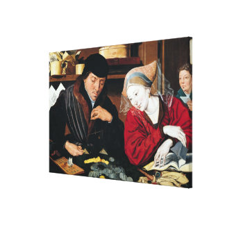 The Tax Collector Canvas Print