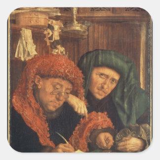 The Tax Collectors, 1550 Square Sticker