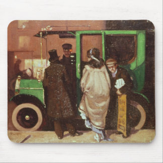 The Taxi Cab, c.1908-10 Mouse Mat