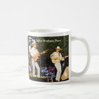 The Taylor Brothers Show Basic White Mug