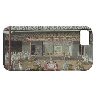 The Tea Depot (gouache on silk) Tough iPhone 5 Case