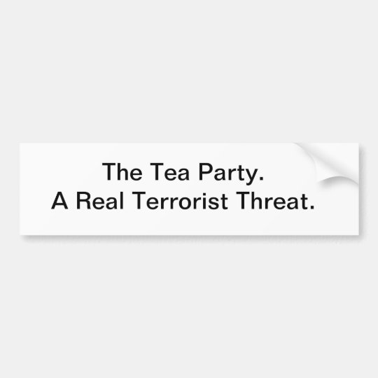 The Tea Party Bumper Sticker
