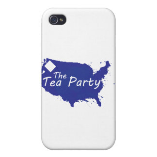 The Tea Party iPhone 4/4S Cover