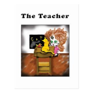 The Teacher Postcard