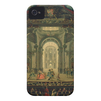 The Teatro Reale in Turin (oil on canvas) Case-Mate iPhone 4 Case