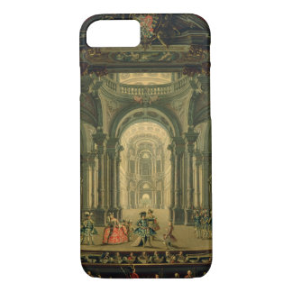 The Teatro Reale in Turin (oil on canvas) iPhone 7 Case