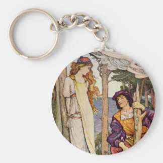 The Tempest Basic Round Button Key Ring
