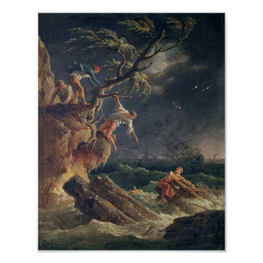 The Tempest, c.1762 Poster
